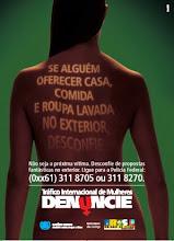 Campanha contra o Tráfico de pessoas.