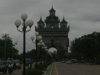 Victory Gate Vientiane Laos