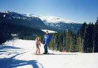 Skiing at Mt. Washington, Comox Valley, Canada