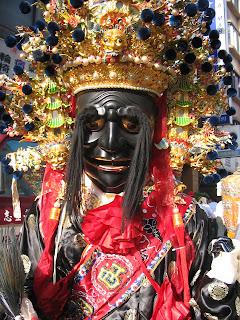 religious parade Tainan City Taiwan