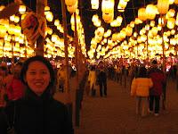 Taiwan Lantern Festival lights