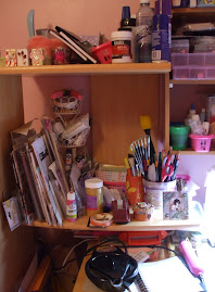 and the rest of my crafty space