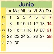 Calendario Junio 2009