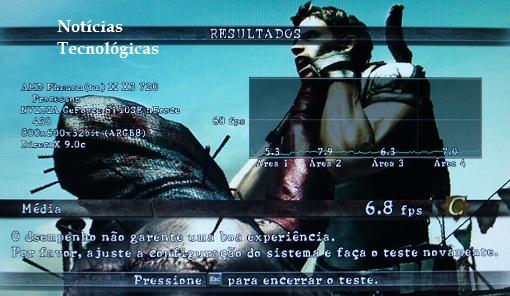 Benchmark Resident Evil 5 - ECS MCP61M M3