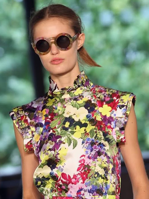 Round sunglasses from Erdem and Cutler & Gross