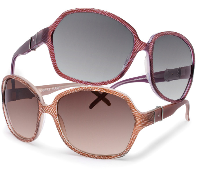 Robert Marc sunglasses - RM629 in Island Violet and Coral Sand (this finish is amazing)