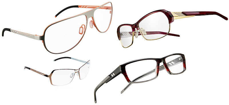 Orgreen glasses - Ella, Panther, York and Hexley