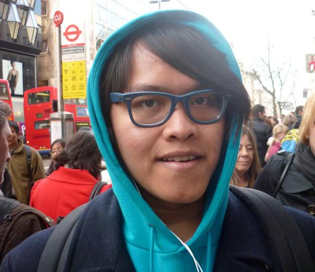 Ray-Ban Wayfarer glasses. Photo: Rob Moss