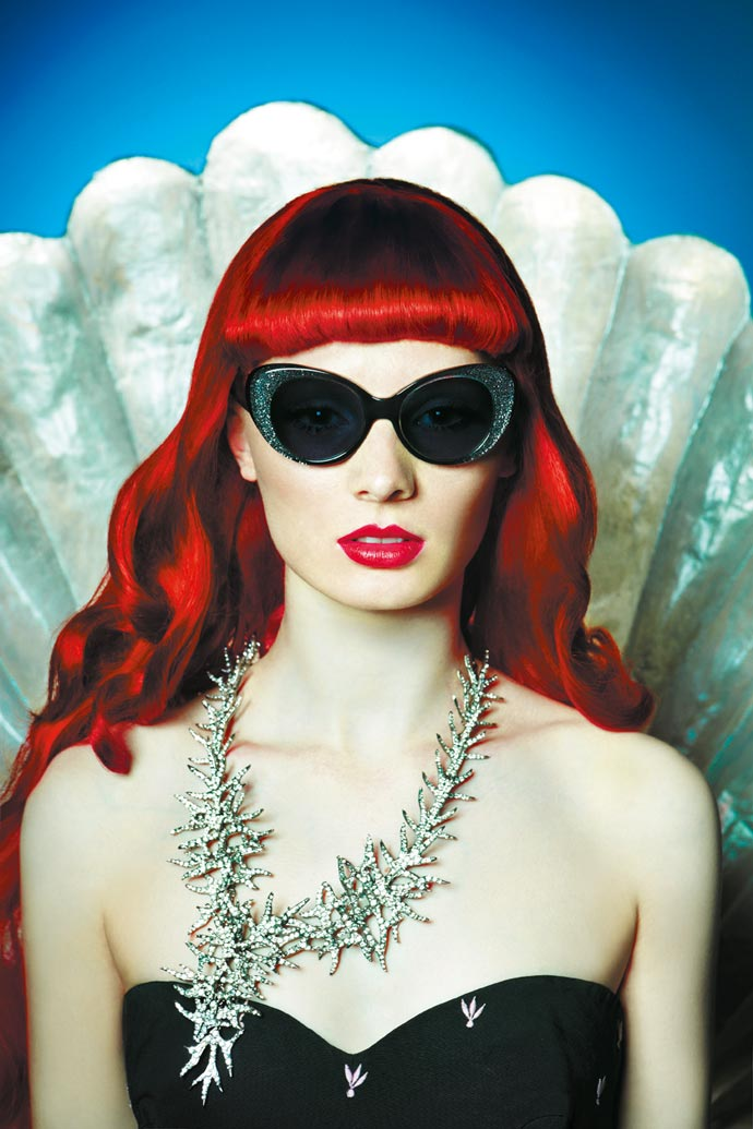 Mermaids, officers, sunglasses and glasses - Cutler & Gross 2011