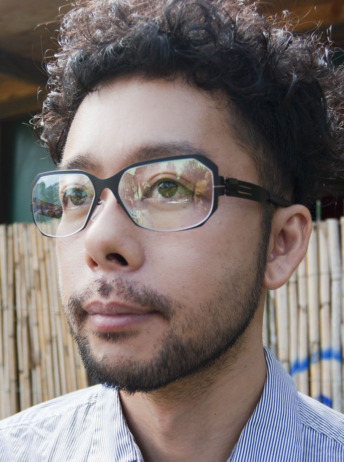 IC! Berlin goes assymetric with Jiro Ito glasses collaboration: Yasuhiko
