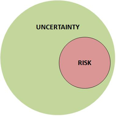 The Vantage Point: Risk versus Uncertainty