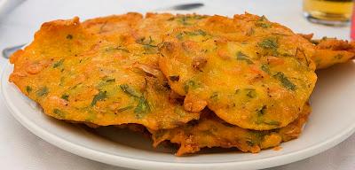 Recetas de pescad,Recetas de camarones,recetas de tortillitas de camarones