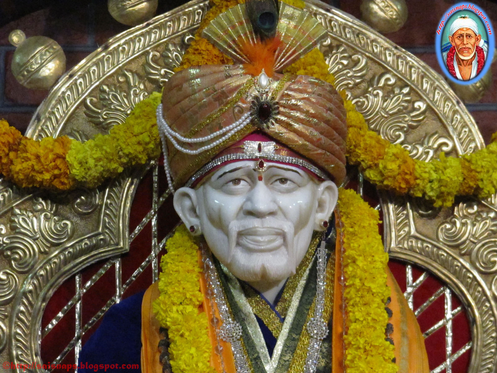 sai wallpaper new year 2011 celebrations at shirdi sai