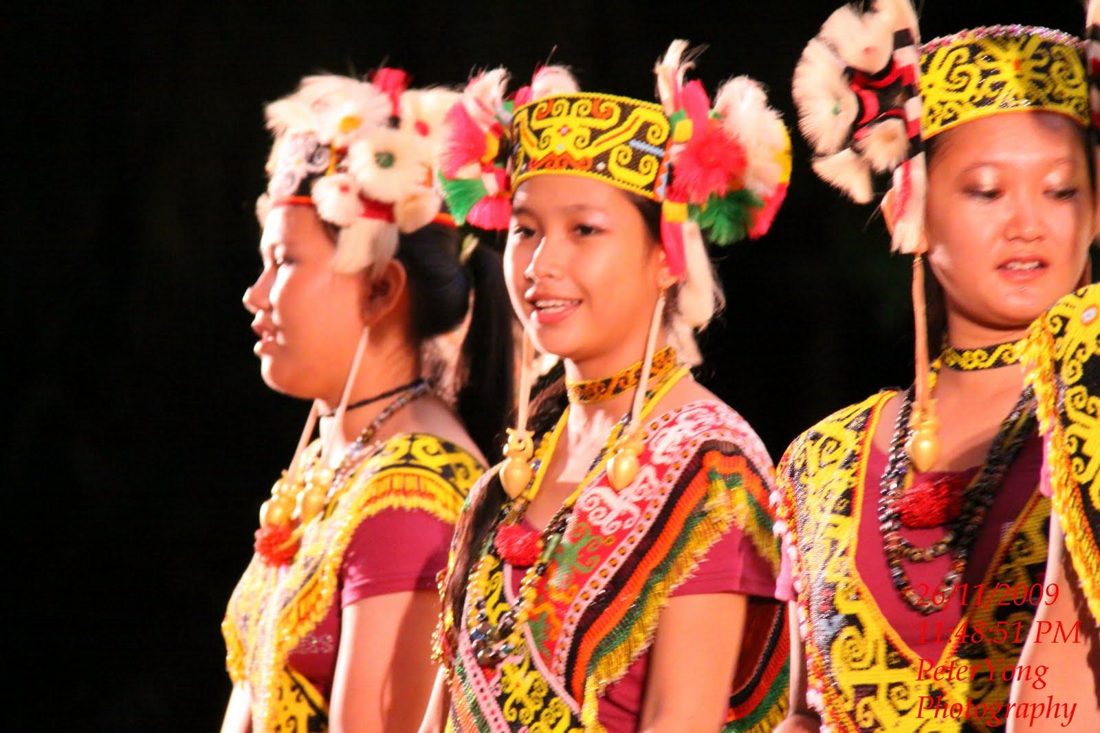 Download this Sarawak Indigenous People The Kenyah Performed Various Long picture