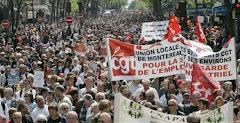نزدیک به 200000 نفر در تظاهرات اول ماه مه درپاریس شرکت کردند
