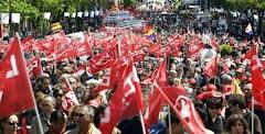 تظاهرات شکوهمند اول ماه مه در مادرید 2009