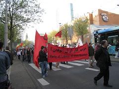 تظاهرات در هلند بمناسبت روز کارگر 2009