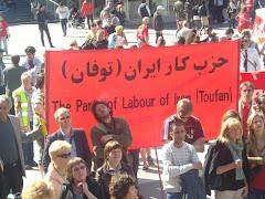 تظاهرات اول ماه مه  دراستکهلم  2009