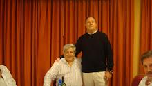 Con Julio Piumato