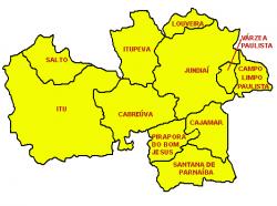 Mapa da nossa Diocese