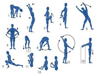 Dicas de alongamentos para o corpo