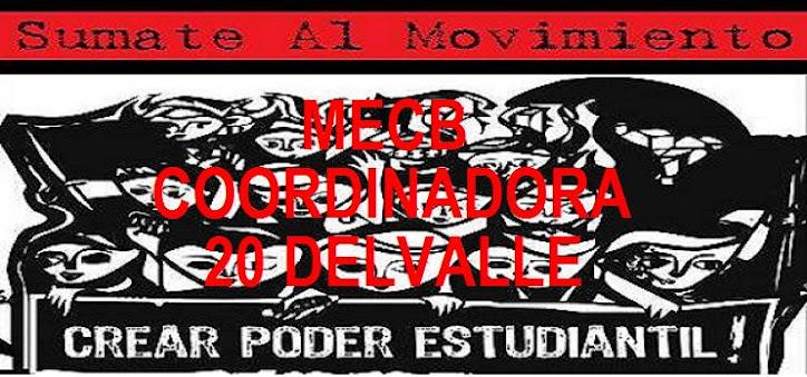 MECB  COORDINADORA 20 DEL VALLE