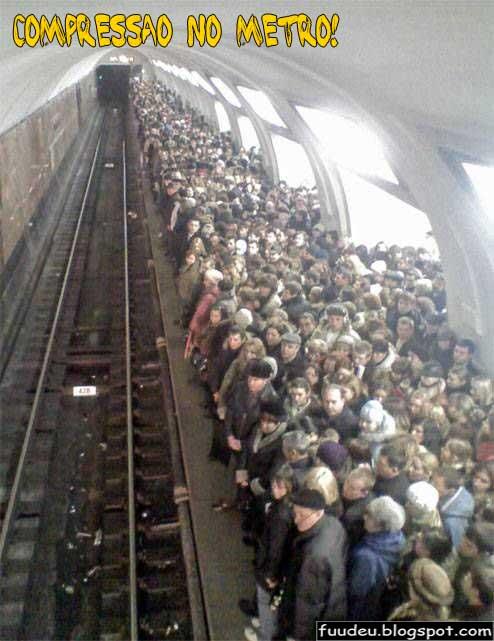 Compressao no metro