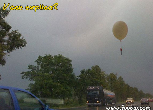 Suicídio com balão