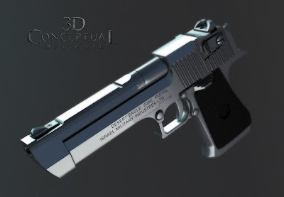 Desert eagle 50 cal from collateral 2003