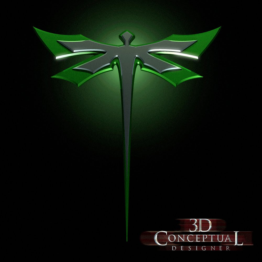 Super Hero Logos A Stylized 3d Logo From The