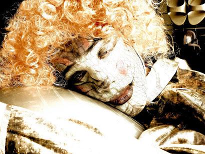 Trabalho artistico.Make-up Clayton Silvério,modelo Lucas Talasqui
