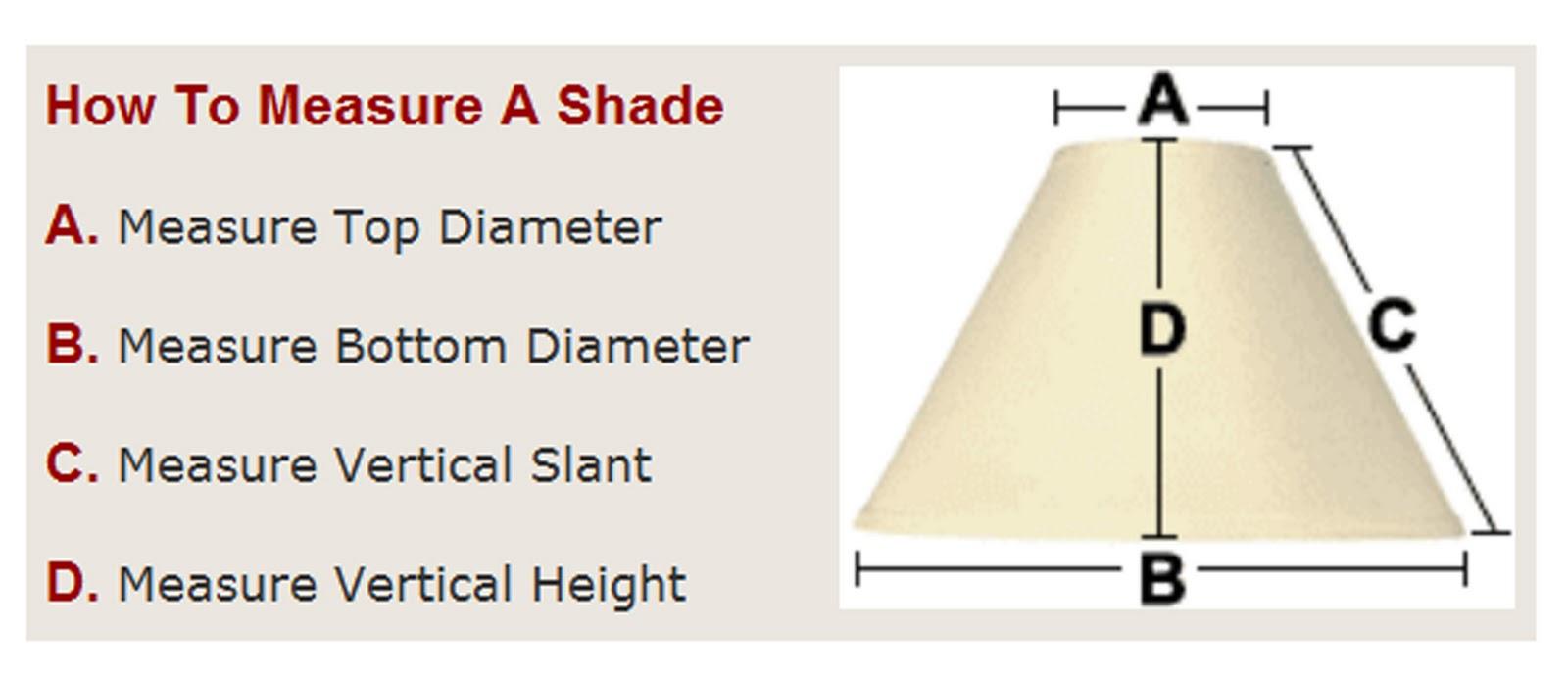 How to measure for lamp shades my web value howtomeasureforashadeg aloadofball Gallery