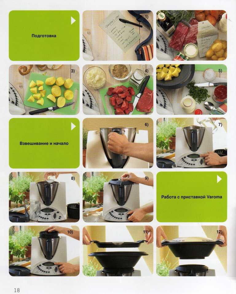 Рецепты для термомикса базовая книга скачать
