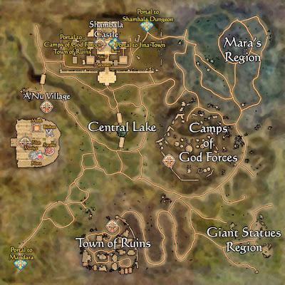 Todo sobre los mapas en Last Game Shambala2