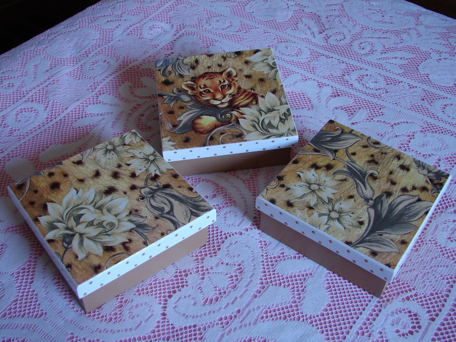 Bell'Arte Arte em madeira e tecido: Caixas para embalar presentes #0883C3 1600x1200