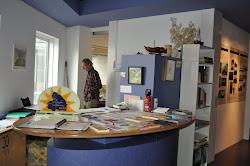 Folderbalie in het Van Gogh Huis
