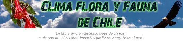 Clima, Flora y Fauna de Chile