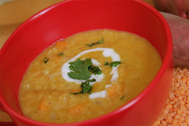 Thai Coconut Curry Lentil Soup