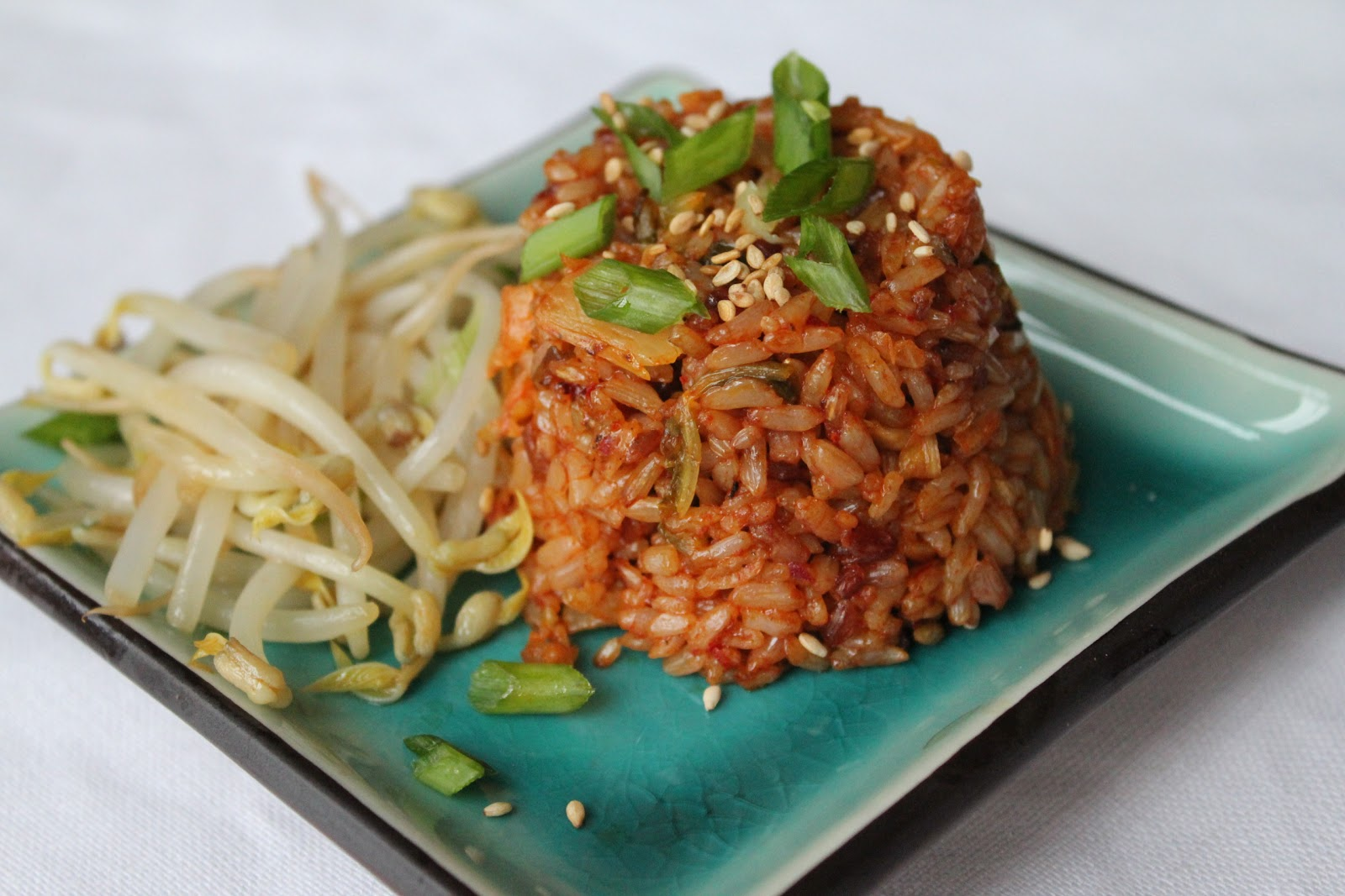 How to cook brown rice vegetable fried rice and kimchi fried rice kimchi fried rice ccuart Choice Image