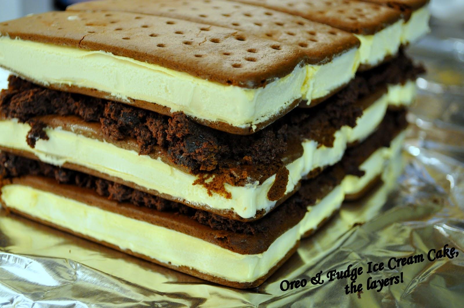 Kraft Canada Ice Cream Sandwich Cake