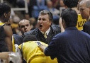 Coach Bob Huggins -AP photo.