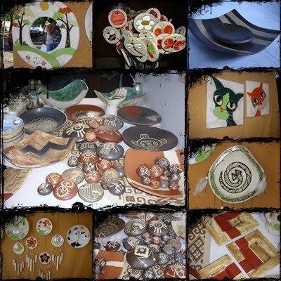 Cielo De Tierra Ceramica Artesanal 1 Horneada A Cielo