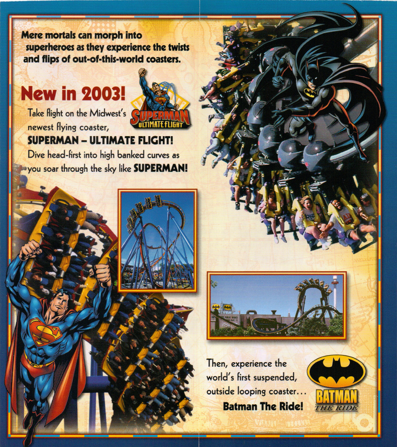 six flags great america park map. Six Flags Great America.
