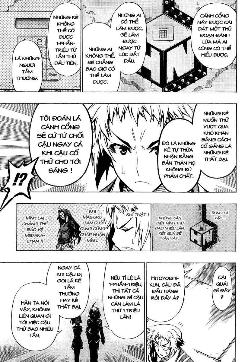 Medaka Box chap 28 - Trang 11