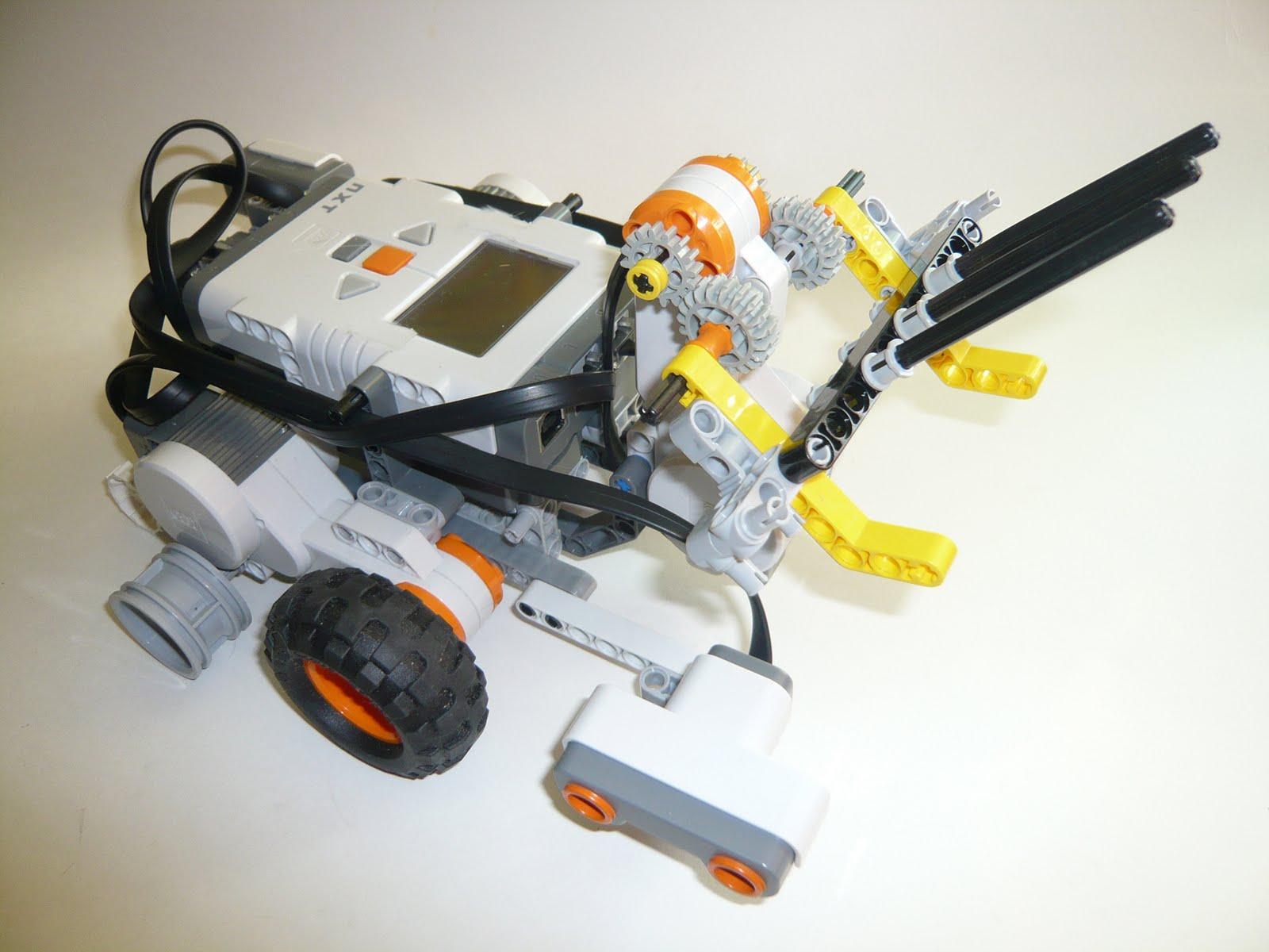 Инструкции к роботу LEGO MINDSTORMS NXT 2.0 785