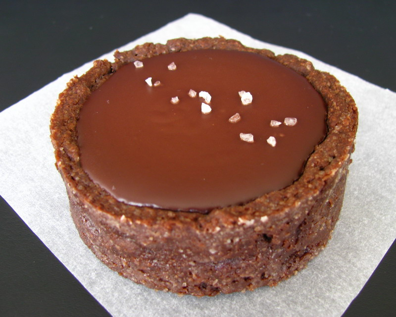 mushitza: Chocolate Salted Caramel Tart