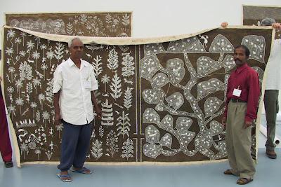 Jivya and Sadashiv Soma Mashe-warli painting