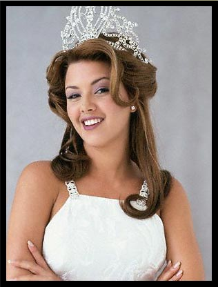 mapa mundi alicia machado. Alicia Machado intentó