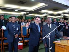 A CHEGADA DO PASTOR ROBERTO DO CAMPO DE MISSÕES