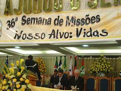 ABERTURA DA SEMANA DE MISSÕES